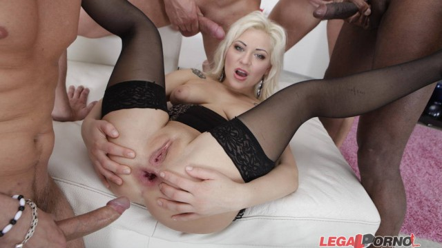 Forced to DAP. Nataly first double anal with multiple swallow. Gape and broken ass GIO046