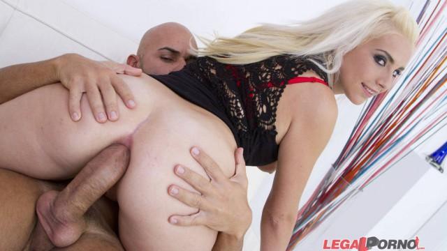 Jessie Sinclair new blonde slut first anal 0% pussy SZ626