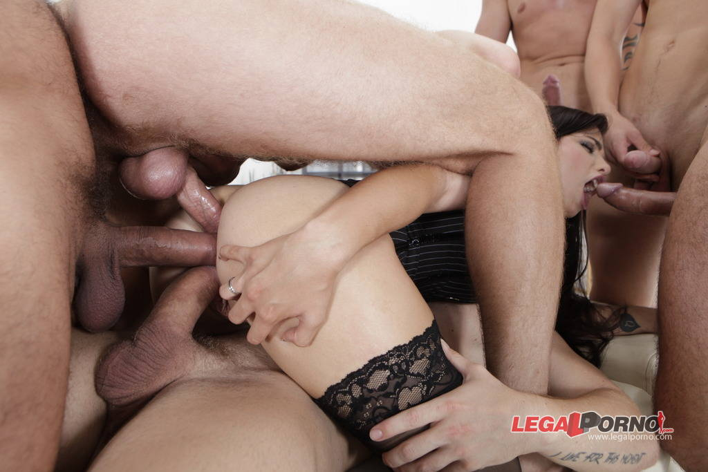 Cuckold Filming his Shared Wife DP Gang Bang Threesome