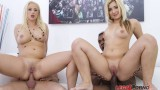 Nicole Diamond & Bambi Bella big butt sluts pissing action (anal & DP) SZ631