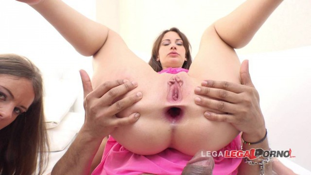 Lita Phoenix & Lana Ray fucked by 3 guys & DP'ed (Lita first DAP attempt) RS152