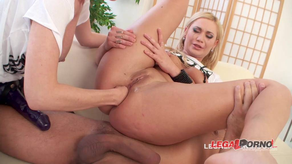 [LegalPorno] Tarra's Lets DAP. Lindsay Olsen is back and banged by 2 monsters Cocks at the same time TW014