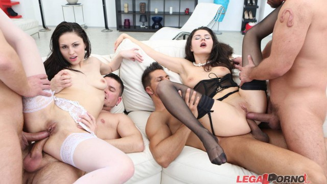 Double Addicted with Squirt Overflood. Francesca Dicaprio and Kirschley Swoon. ATM/SPITTING/MANHANDLE/MULTIPLE SWALLOW GIO172