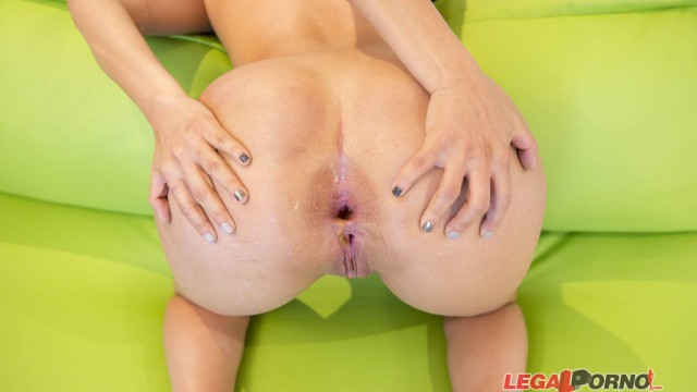 Big Butt slut Lady Gaby massive cock anal pounding SPX002