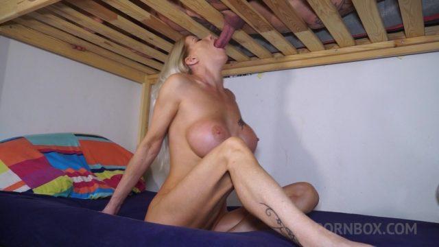 Lara De Santis milking cock for cum OTS200
