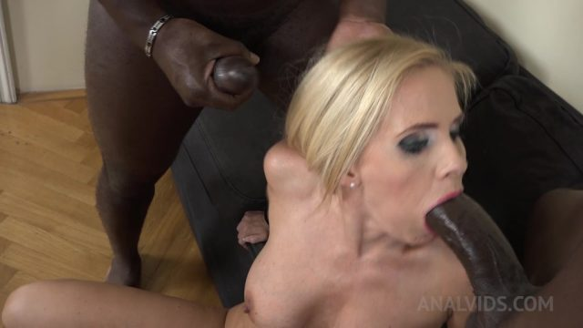 Kinky interracial DP with Klara KS061