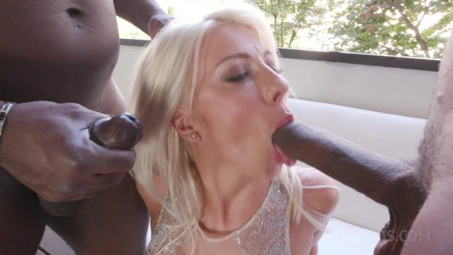 Kinky interracial DP for XXX Nikyta KS051