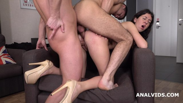 Katty West 2on1 Balls Deep Anal, DP, and Cum in Mouth GL180