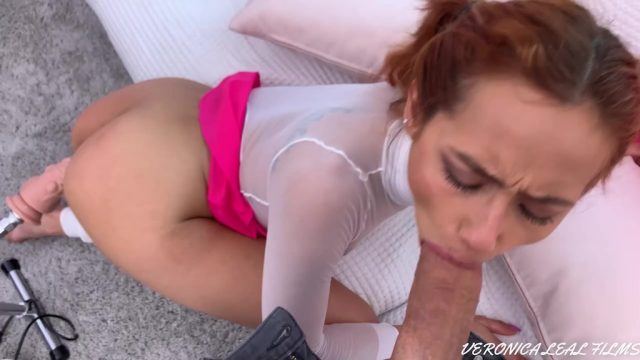 Veronica Leal squirts non stop while being fucked by Raul Costa & Sex Machine OTS123